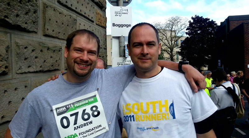 Notes From A Dad and Brother at burnley 10K