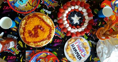 Super hero feast