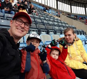 Notes From A Dad at Monster Jam in Coventry, UK