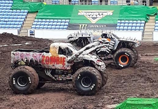 The one where we go to Monster Jam… again!