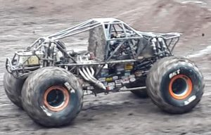 Max-D with no body kit at Monster Jam Coventry, UK